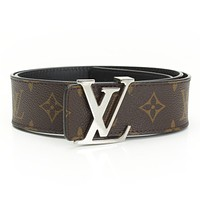 AUTHENTIC LOUIS VUITTON SAN TUR BELT M9821 AC3154 REVERSIBLE GRADE A USED -AT