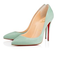 Pigalle Follies 100mm Amande Suede