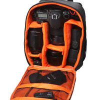 Waterproof and multi-functional SLR Camera Backpack E-HCS-SPR bag Free shipping