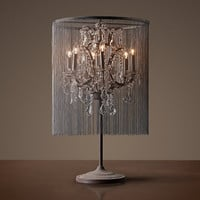 Vaille Crystal Table Lamp