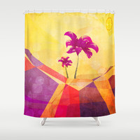 The dream island Shower Curtain by SensualPatterns