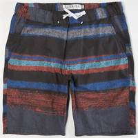 Ezekiel Pool Party Mens Volley Shorts Black  In Sizes