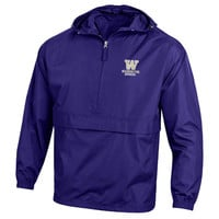 Washington Huskies Champion Packable Jacket - Purple