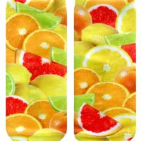 Fruits Ankle Socks