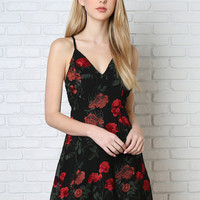 Leila Floral Embroidered Dress