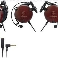 Import ATH-EW9 Adjustable Wooden Clip-on Earphone