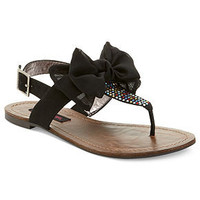 Material Girl Shoes, Solar Flat Thong Sandals - Shoes - Macy's