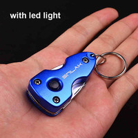7 in 1 Portable Multi Function Folding knife Pocket Tools Plier Keychain Knife Screwdriver Free Shipping