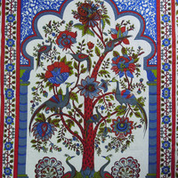 Indian Tree Of Life Hippie Hippy Wall Hanging Tapestry Throw Bedspread Bed Decor Sheet Ethnic Decorative Art