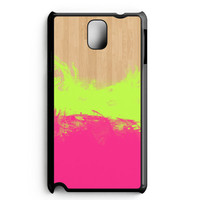 Water Color On Wood Samsung Galaxy Note 3 Case