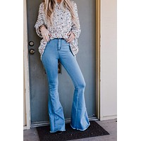 Dylan Bell Bottom Jeans - Light Wash