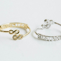 Twins best friend ring,best friend infinity ring, bff ring,friendship ring,eternity ring,graduation ring,infinite ring,adjustable ring,SKD18