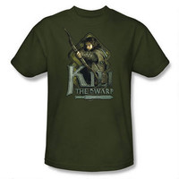 The Hobbit: An Unexpected Journey Kili the Dwarf Adult Shirt |