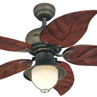 Oasis 48-Inch Five-Blade Indoor/Outdoor Ceiling Fan