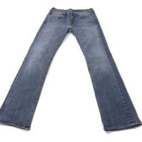SEVEN 7 FOR All MANKIND Womens Mens Stylish Distressed Jeans Pants Size 30