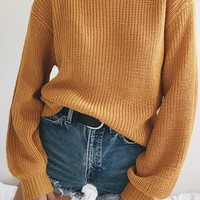 Belle Sweater - Mustard