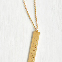 Quirky A Discovery a Day Necklace by ModCloth