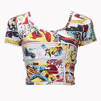 Marvel™ Comic Crop Top