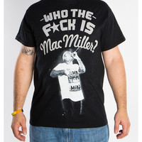 Who the Fuck is Mac Miller? Tee