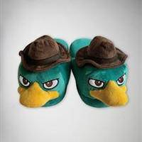 Phineas & Ferb 'Perry With Hat' Slippers
