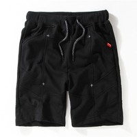 Men's Fashion Casual Pants Summer Cotton Sports Shorts [10722673475]