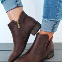 Rock With You Booties: Hickory