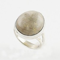 Sea Urchin Sterling Silver Ring