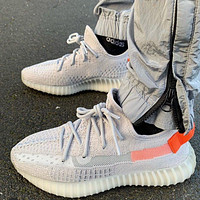 """Adidas Yeezy Boost 350 """"Tail Light"""" Sneakers Shoes"""