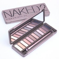 Urban Decay Naked2 Palette Eyeshadow without lip gloss