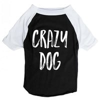 Crazy Dog Raglan (Dog)