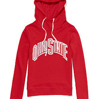 The Ohio State University Bling Funnel-neck Hoodie - PINK - Victoria's Secret