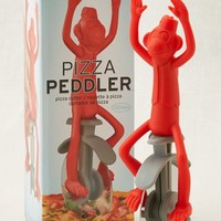 Aerie 's Fred & Friends Pizza Peddler Cutter (Light Neon Red)