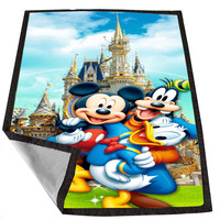 mickey mouse and freinds 9cd32354-abd2-4b38-a129-bf4b04b88774 for Kids Blanket, Fleece Blanket Cute and Awesome Blanket for your bedding, Blanket fleece *02*