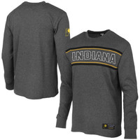 Indiana Pacers Big E Long Sleeve Thermal T-Shirt – Charcoal