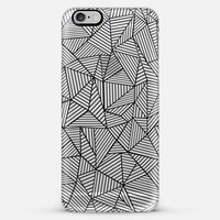Abstraction Lines #2 Transparent iPhone 6 case by Project M   Casetify