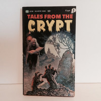 Vintage Horror Book Tales From The Crypt Vol. 1 1965 2nd Printing Paperback Comic Books Classics