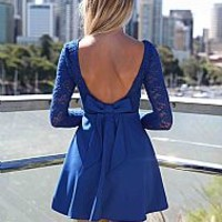 THE LUCKY ONE DRESS , DRESSES, TOPS, BOTTOMS, JACKETS & JUMPERS, ACCESSORIES, 50% OFF SALE, PRE ORDER, NEW ARRIVALS, PLAYSUIT, COLOUR, GIFT VOUCHER,,Blue,LACE Australia, Queensland, Brisbane