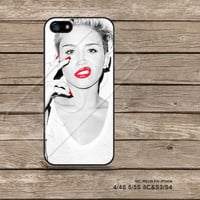 Miley cyrus iPhone5s Case iPhone 4 case iPhone 5C Case iPhone5 Case iPhone Case Disney Samsung Galaxy s3 Galaxy s4 - M5149