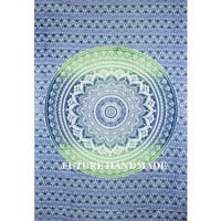 Ombre Tapestry, Mandala Tapestries, Hippie Wall Tapestries, Ombre Tapestries - Future Handmade