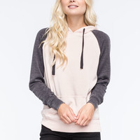 FULL TILT Essential Colorblock Womens Pullover Hoodie | Essentials