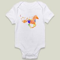 horse Onesy by haroulita on BoomBoomPrints