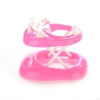 1 X Plastic Baby Walker New Doll's House For Barbie Dollhouse 5cm*7cm*6cm BestHU
