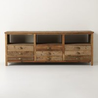 Illusorio Console by Anthropologie in Brown Size: One Size Furniture
