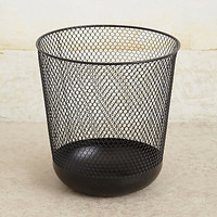 Cross-Wire Waste Basket