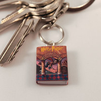 Harry Potter Miniature Book Keychain