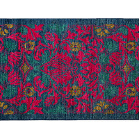 """3'x5'6"""" Art & Craft Knotted Rug, Pink, Area Rugs"""