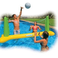 """Intex Pool Volleyball Game, 94"""" X 25"""" X 36"""", for Ages 6+, Color may vary"""