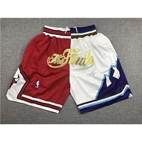 Just Don 1997 NBA Finals Chicago Bulls x Utah Jazz Short