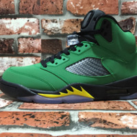 Best Deal AIR JORDAN 5 'OREGON DUCKS'
