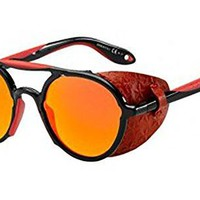 Sunglasses Givenchy 7038 /S 0TFD Black Red / UZ red mirror lens
